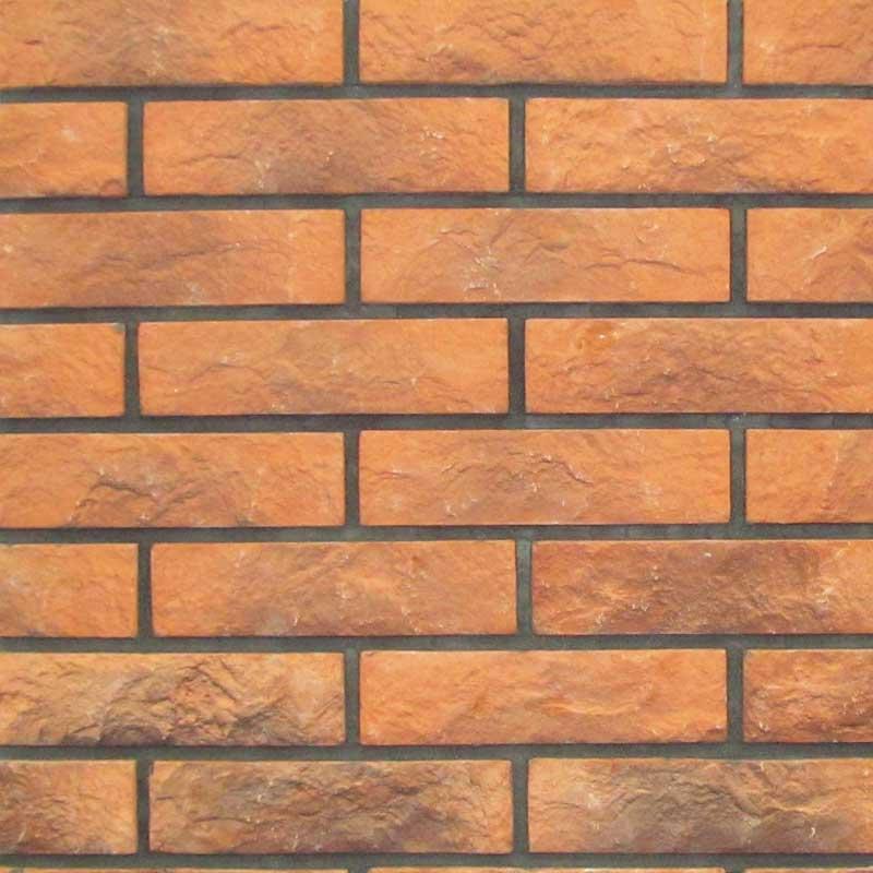 "Плитка ""Бруклин"" арт.408 оранжевый кирпич"