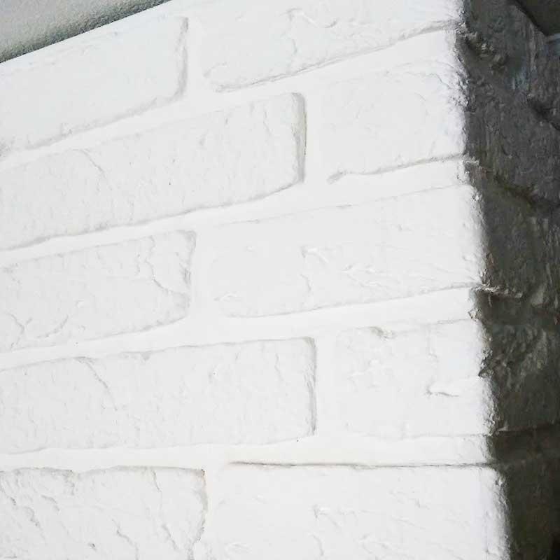 """Имитация кирпича """"Вавилон"""" арт.800 белый"""