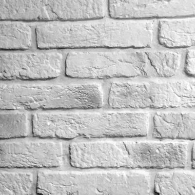 """Плитка """"Вавилон"""" арт.801 белый с черным напылением"""